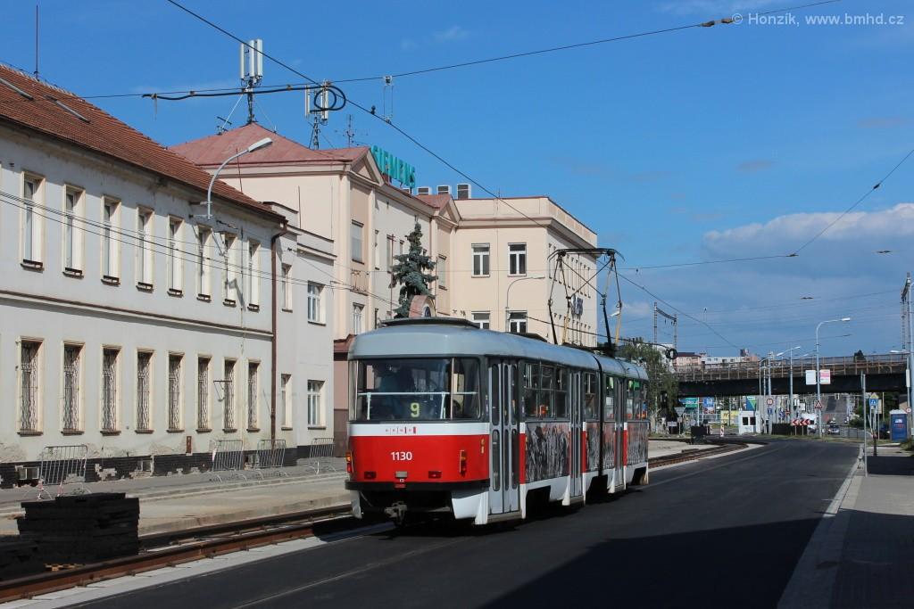 Fotogalerie » ČKD Tatra K2 1130 | Brno | Černovice | Olomoucká
