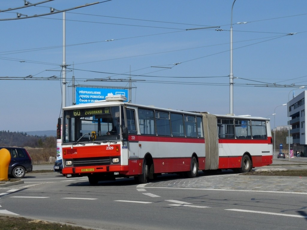 Fotogalerie » Karosa B741.1924 BSC 50-42 2329 | Brno | Bohunice | Kamenice