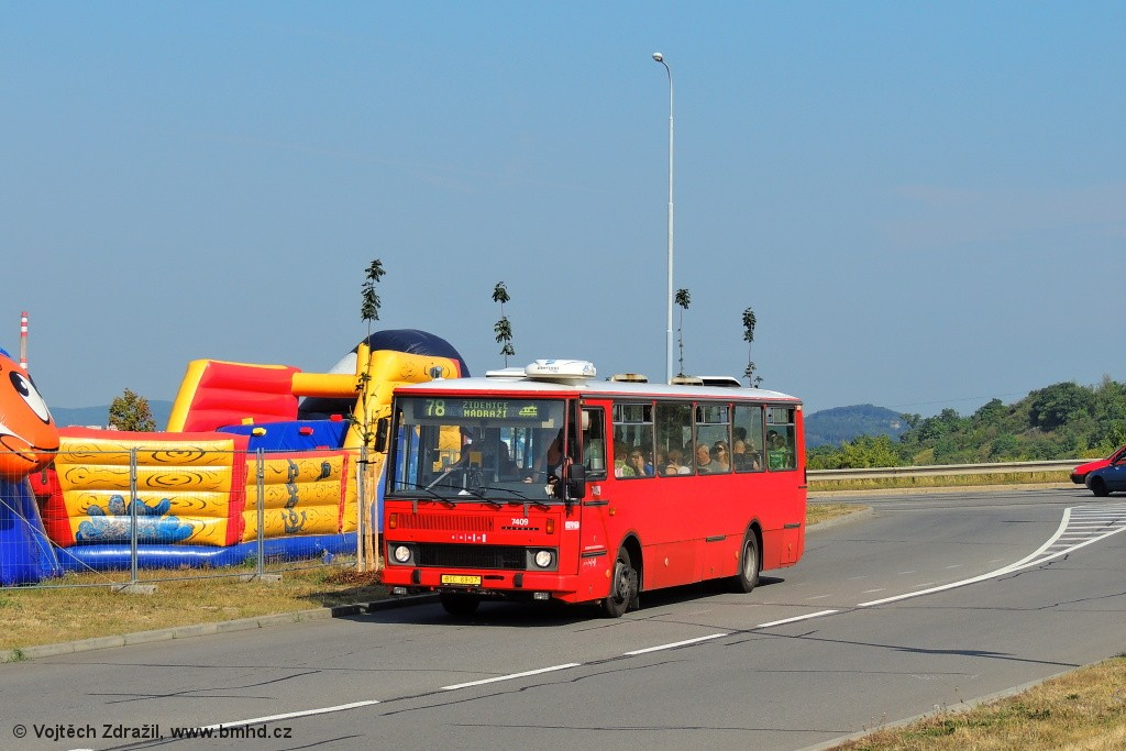 Fotogalerie » Karosa B731.1669 BSC 69-07 7409 | Brno | Líšeň | Podruhova