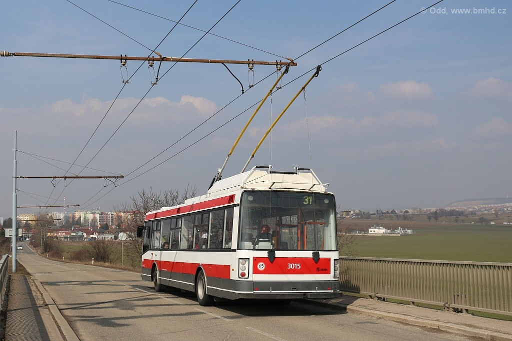 Fotogalerie » Škoda 21Tr 3015 | Brno | Slatina | Šlapanická
