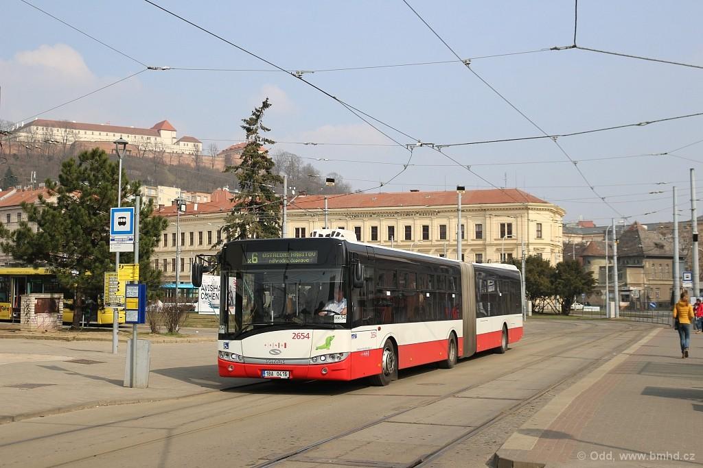 Fotogalerie » Solaris Urbino 18 III 1BA 0416 2654 | Brno | Staré Brno | Mendlovo náměstí | Mendlovo náměstí
