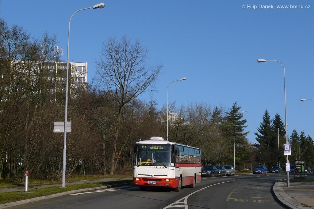 Fotogalerie » Karosa B951E.1713 3B9 8316 7486 | Brno | Lesná | Okružní