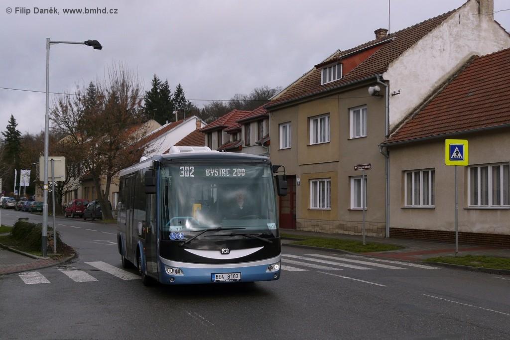 Fotogalerie » SOR EBN 8 5E4 8103 2717 | Brno | Bystrc | U Zoologické zahrady