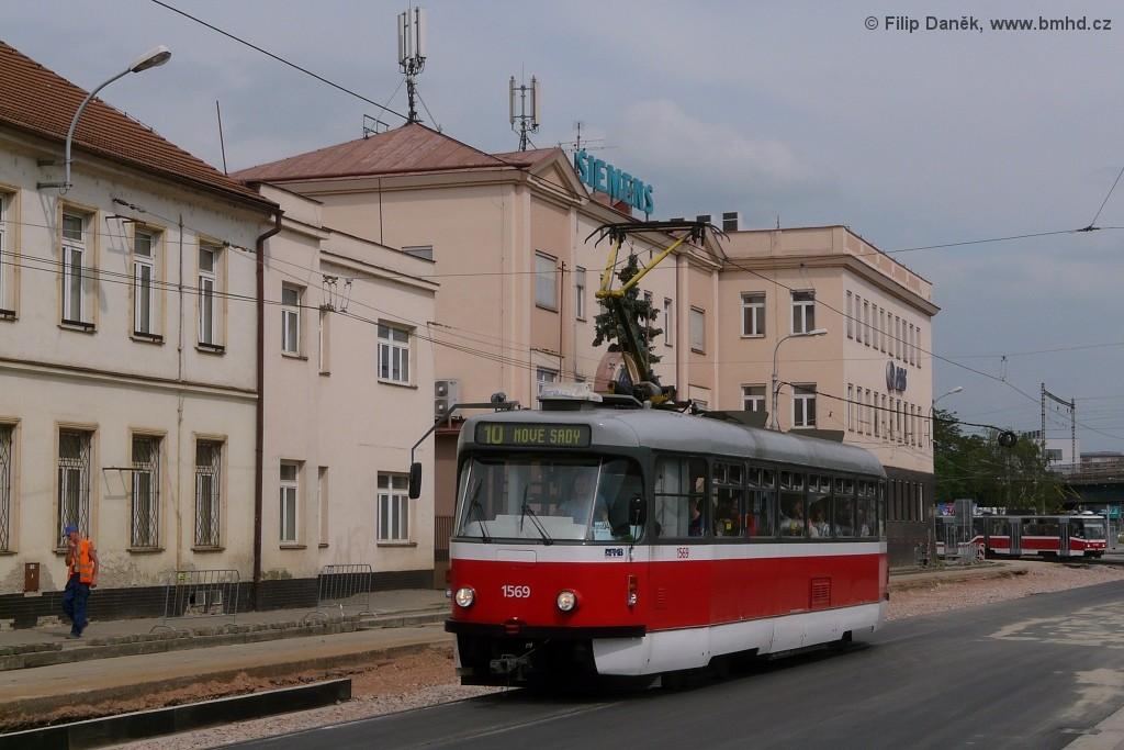 Fotogalerie » Pragoimex T3R.EV 1569 | Brno | Černovice | Olomoucká