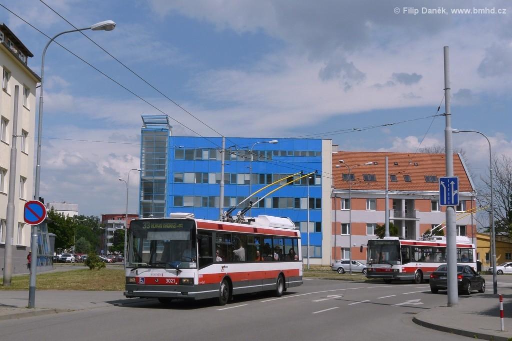 Fotogalerie » Škoda 21Tr 3021   Brno   Trnitá   Mlýnská