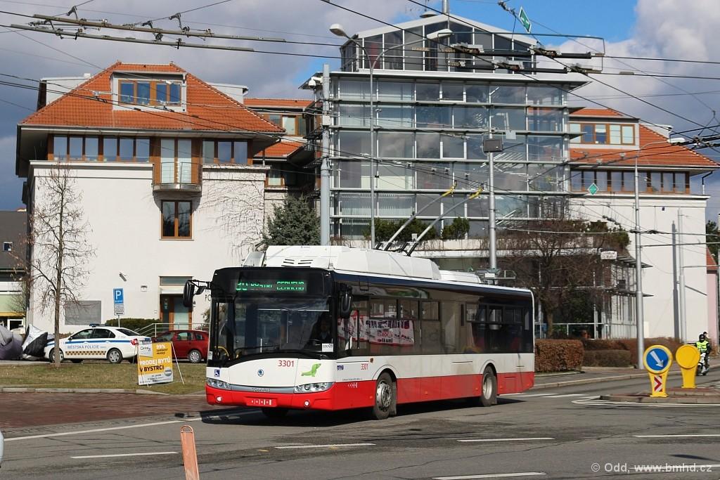 Fotogalerie » Škoda 26Tr 3301 | Brno | Bystrc | Odbojářská