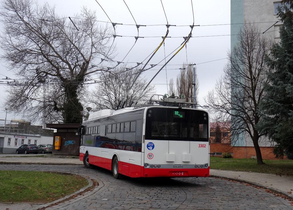 Fotogalerie » Škoda 26Tr 3302 | Brno | Královo Pole | Srbská | Srbská