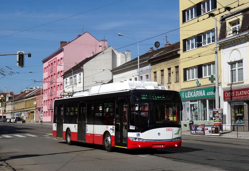 Fotogalerie » Škoda 26Tr 3302 | Brno | Královo Pole | Palackého třída