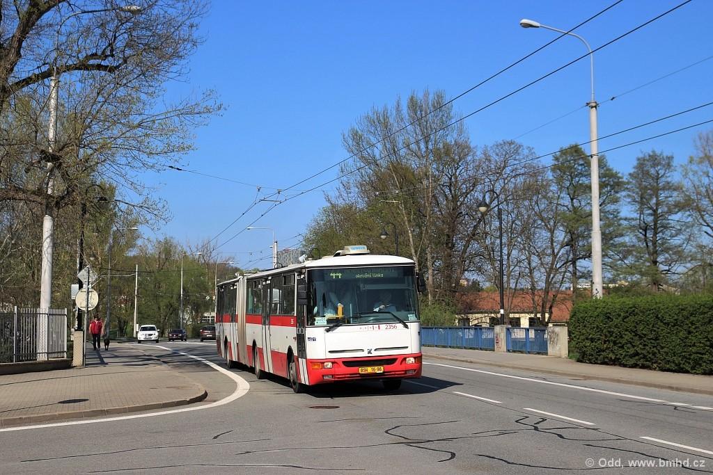 Fotogalerie » Karosa B941E.1962 BSH 13-86 2356 | Brno | Jundrov | Veslařská
