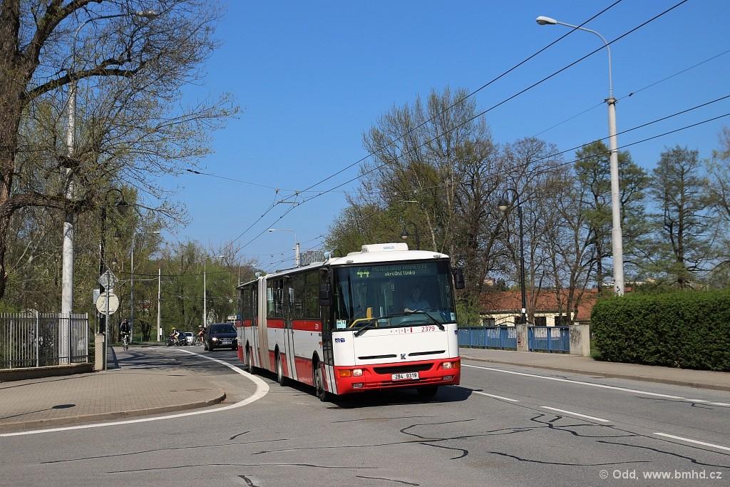 Fotogalerie » Karosa B961E.1970 2B4 9319 2379 | Brno | Jundrov | Veslařská