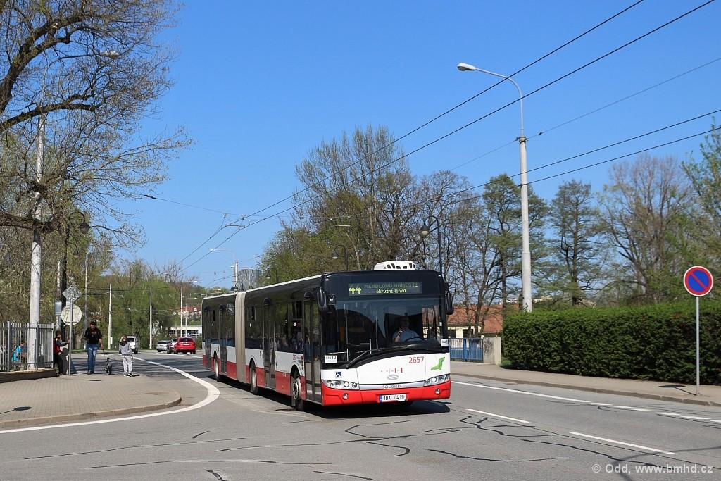 Fotogalerie » Solaris Urbino 18 III 1BA 0419 2657 | Brno | Jundrov | Veslařská