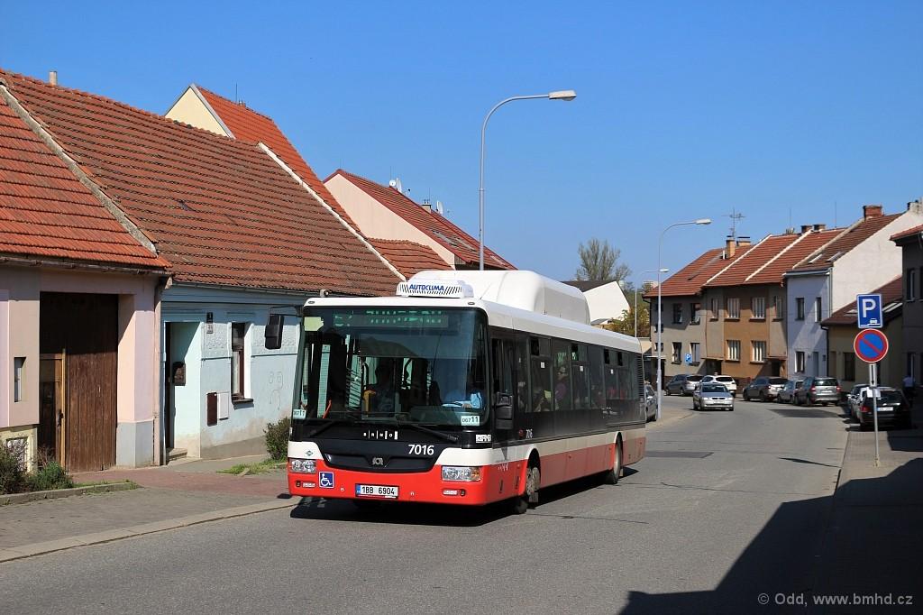Fotogalerie » SOR NBG 12 1BB 6904 7016 | Brno | Jundrov | Nálepkova