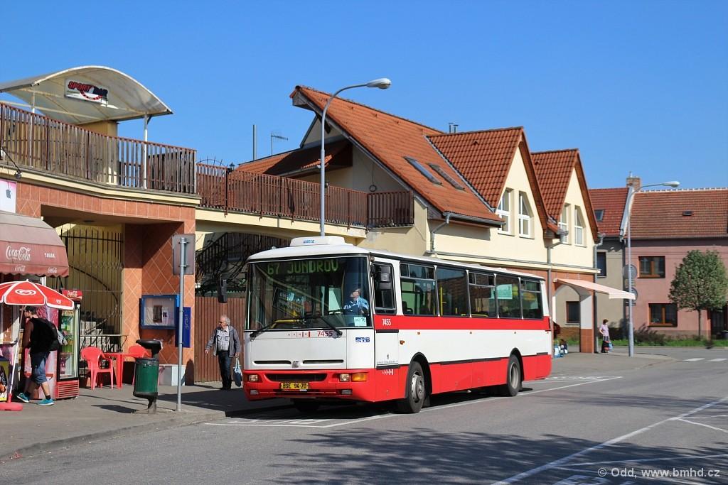 Fotogalerie » Karosa B931E.1707 BSE 94-70 7455 | Brno | Jundrov | Optátova | Optátova
