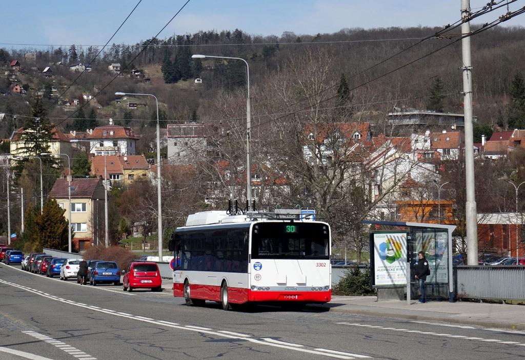 Fotogalerie » Škoda 26Tr 3302 | Brno | Komín | Veslařská
