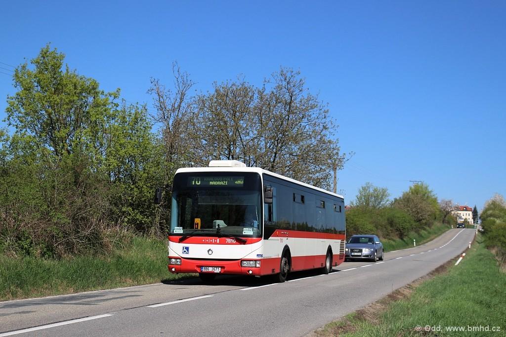 Fotogalerie » Irisbus Crossway LE 12M 7B3 3920 7810 | Brno | Mokrá Hora | Tumaňanova