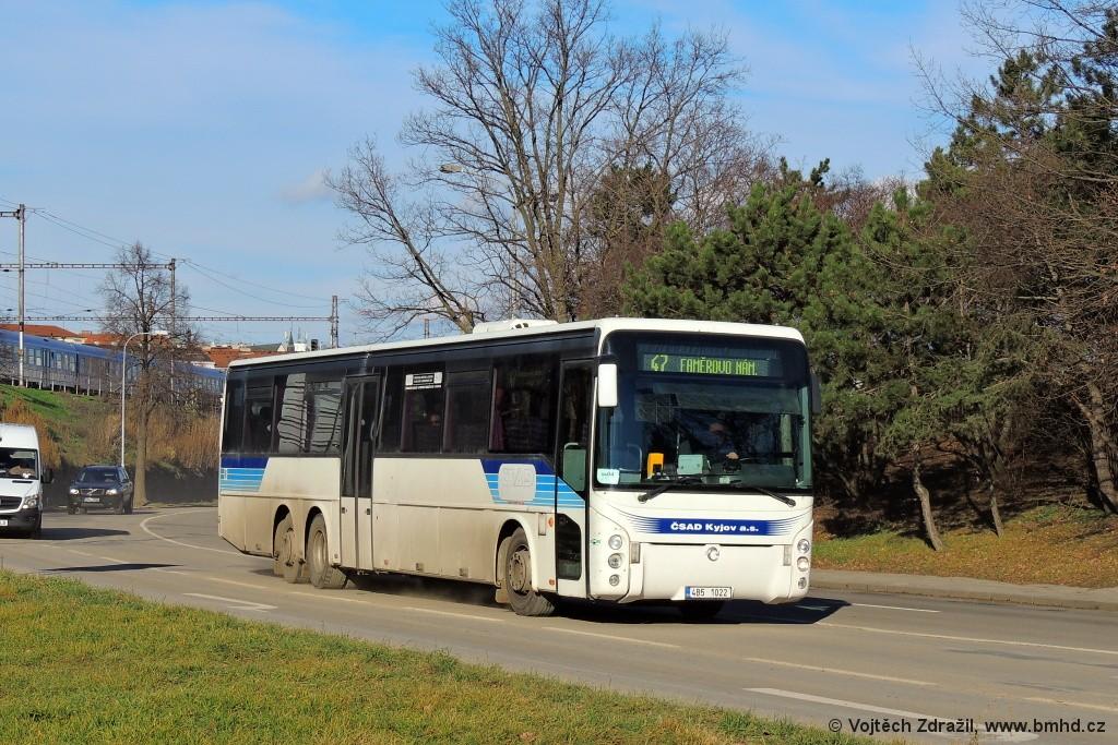 Fotogalerie » Irisbus Ares 15M 4B5 1022 | Brno | Trnitá | Uhelná