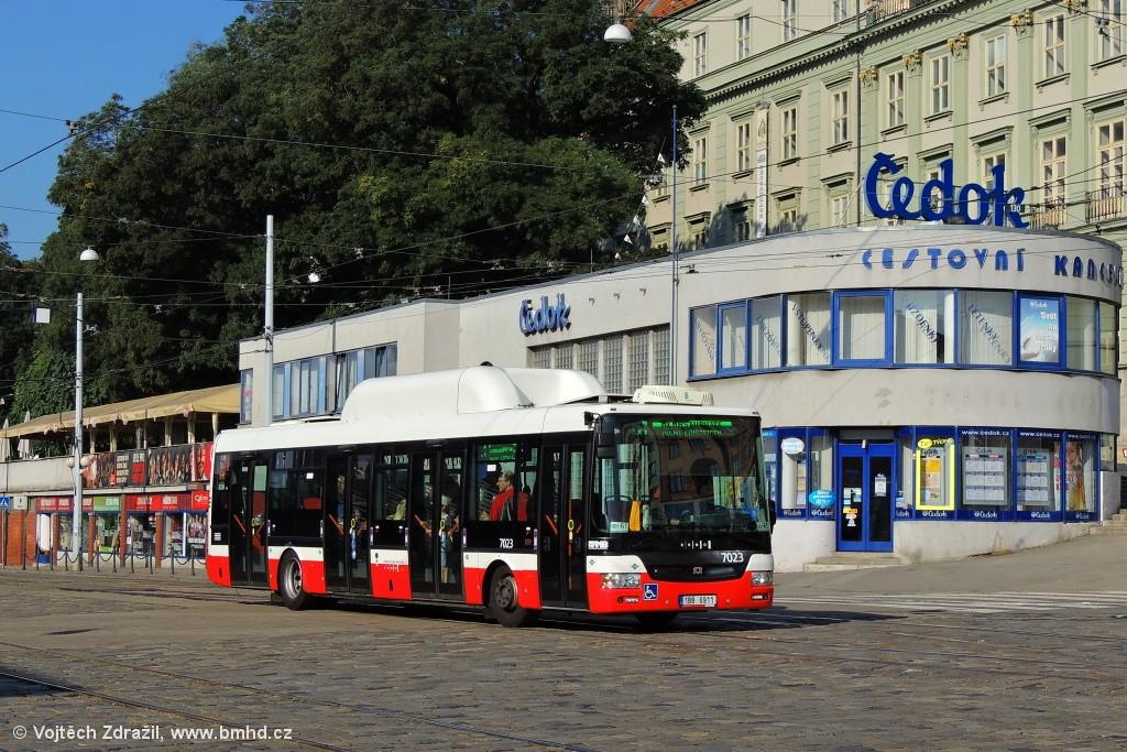 Fotogalerie » SOR NBG 12 1BB 6911 7023 | Brno | střed | Nádražní