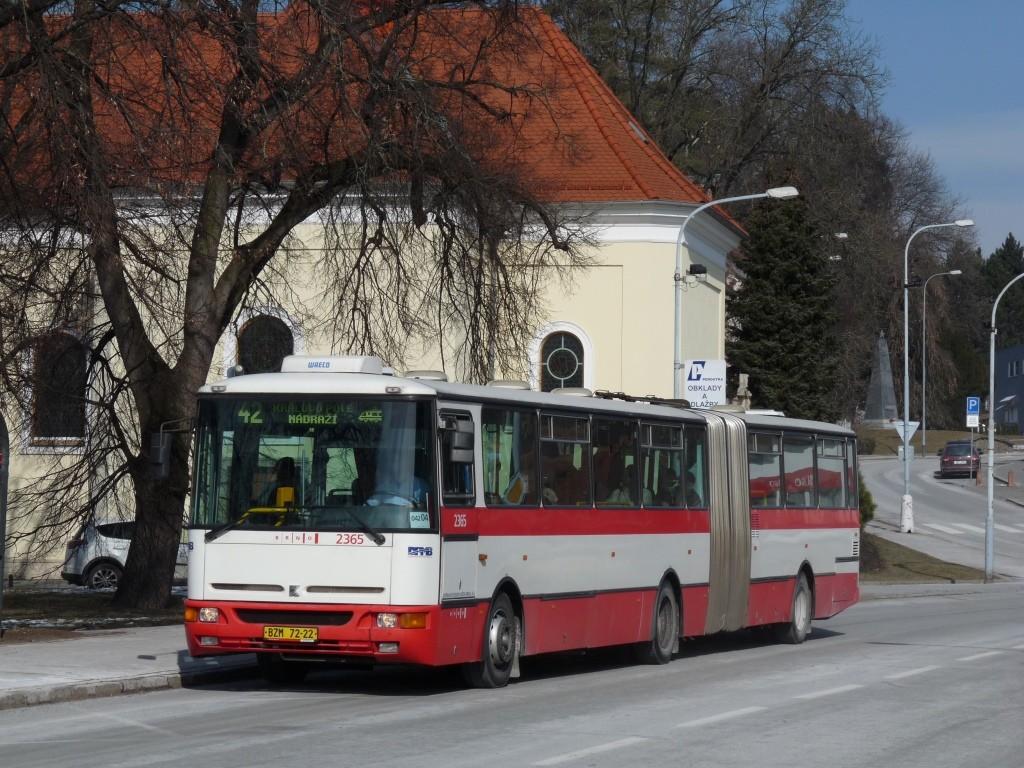 Fotogalerie » Karosa B961.1970 BZM 72-22 2365 | Brno | Řečkovice | Palackého náměstí