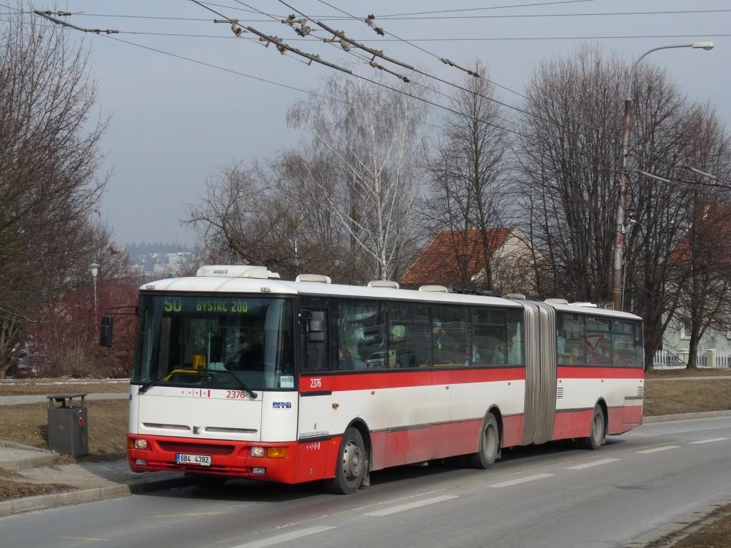 Fotogalerie » Karosa B961E.1970 6B4 4392 2376 | Brno | Nový Lískovec | Petra Křivky | Čtvrtě