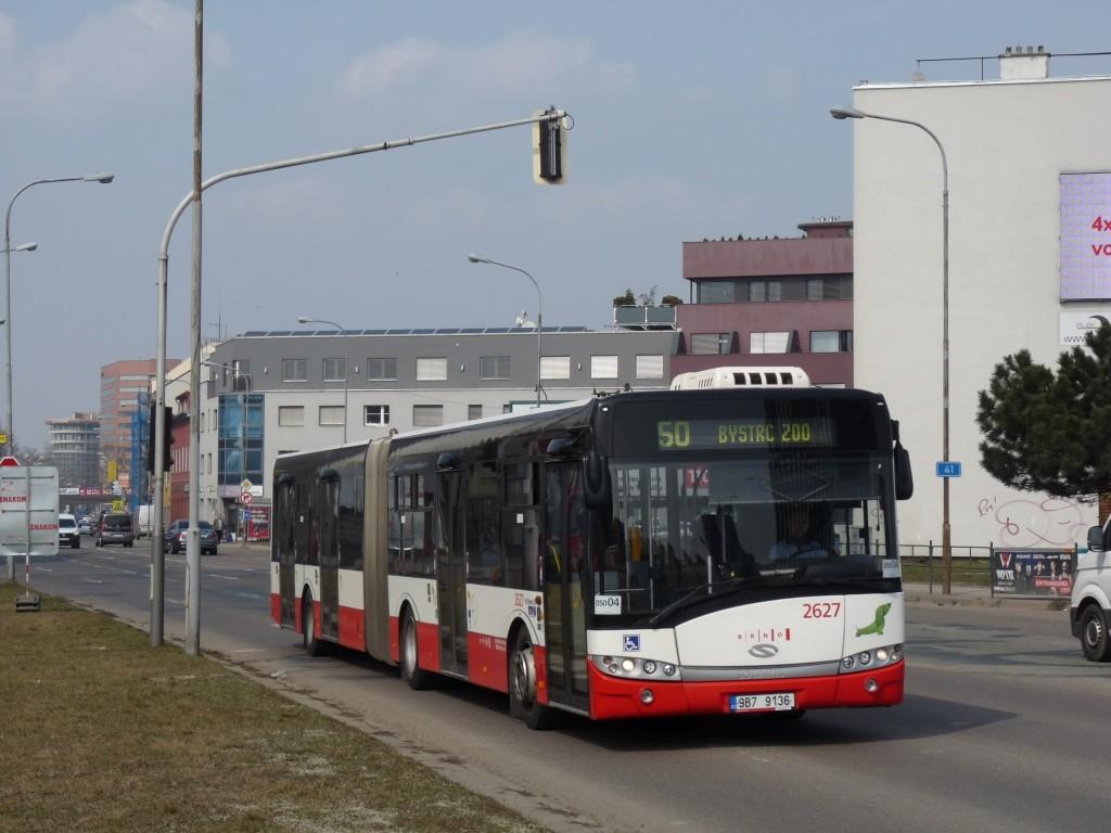 Fotogalerie » Solaris Urbino 18 III 9B7 9136 2627   Brno   Komárov   Svatopetrská