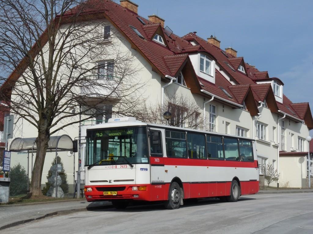 Fotogalerie » Karosa B931E.1707 BSH 16-74 7473 | Brno | Královo pole | Kociánka | Högrova