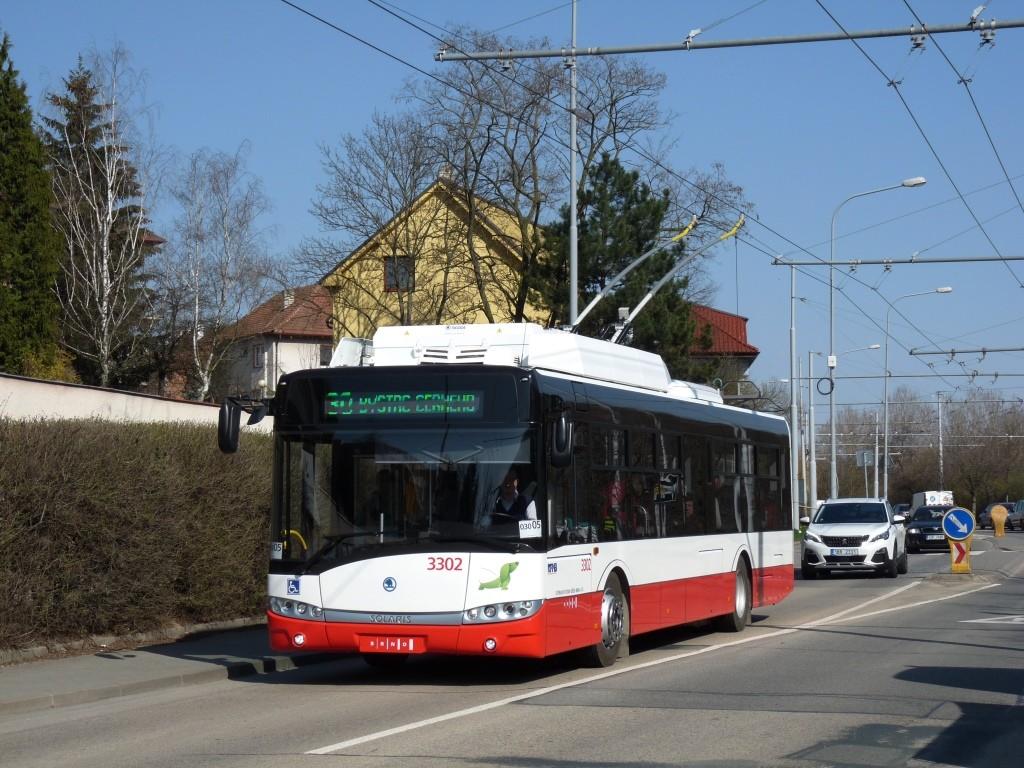 Fotogalerie » Škoda 26Tr 3302 | Brno | Komín | Bystrcká