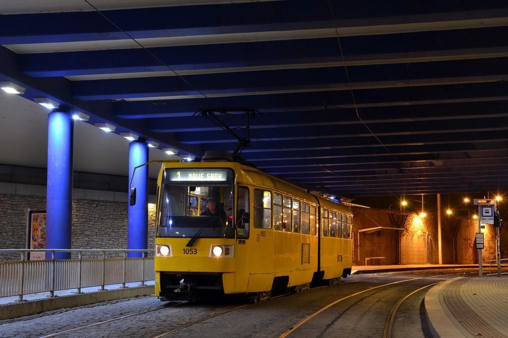 Fotogalerie » ČKD Tatra K2R 1053 | Brno | Pisárky | Pisárky