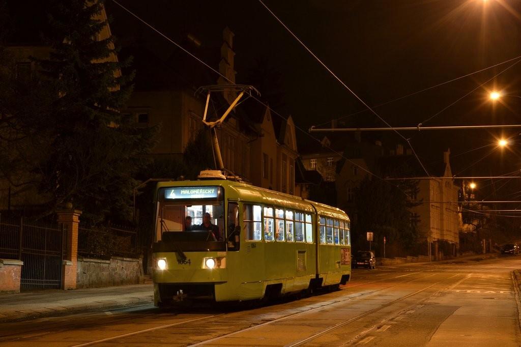 Fotogalerie » ČKD Tatra K2R 1064 | Brno | střed | Údolní | Všetičkova