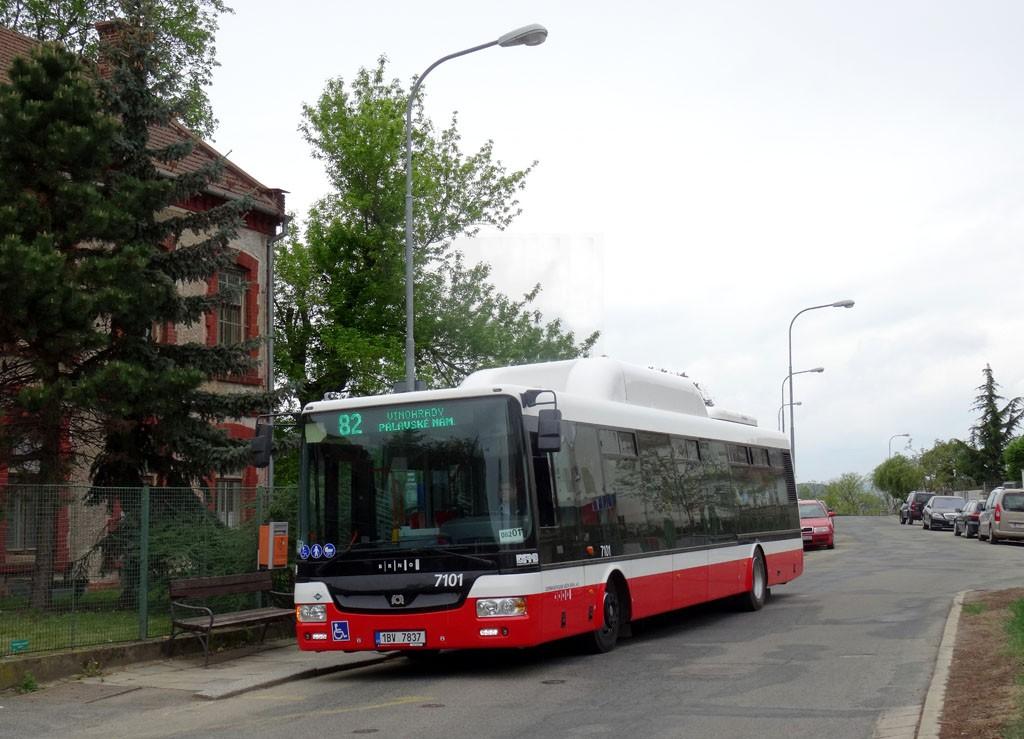 Fotogalerie » SOR NBG 12 1BV 7837 7101 | Brno | střed | Červený kopec | Červený kopec