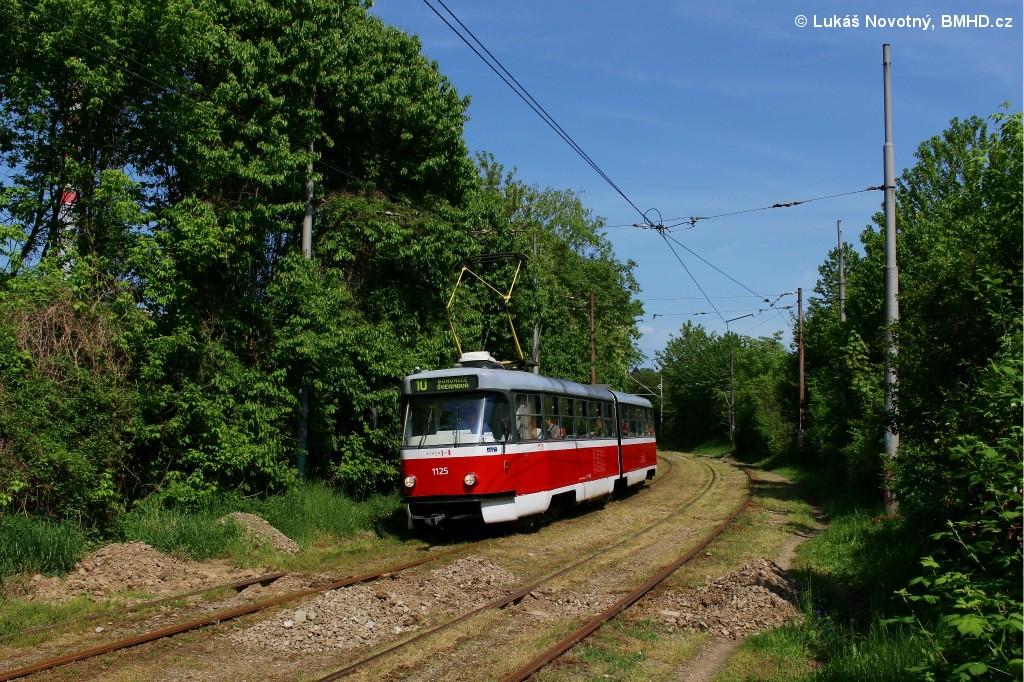 Fotogalerie » ČKD Tatra K2 1125   Brno   Slatina