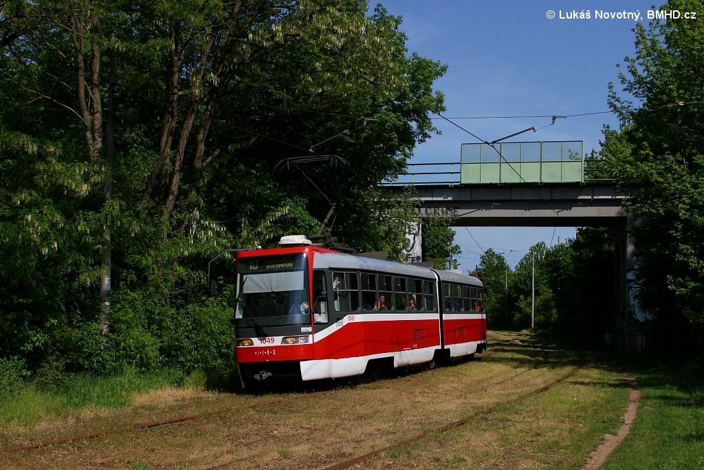 Fotogalerie » ČKD Tatra K2R03-P 1049 | Brno | Slatina