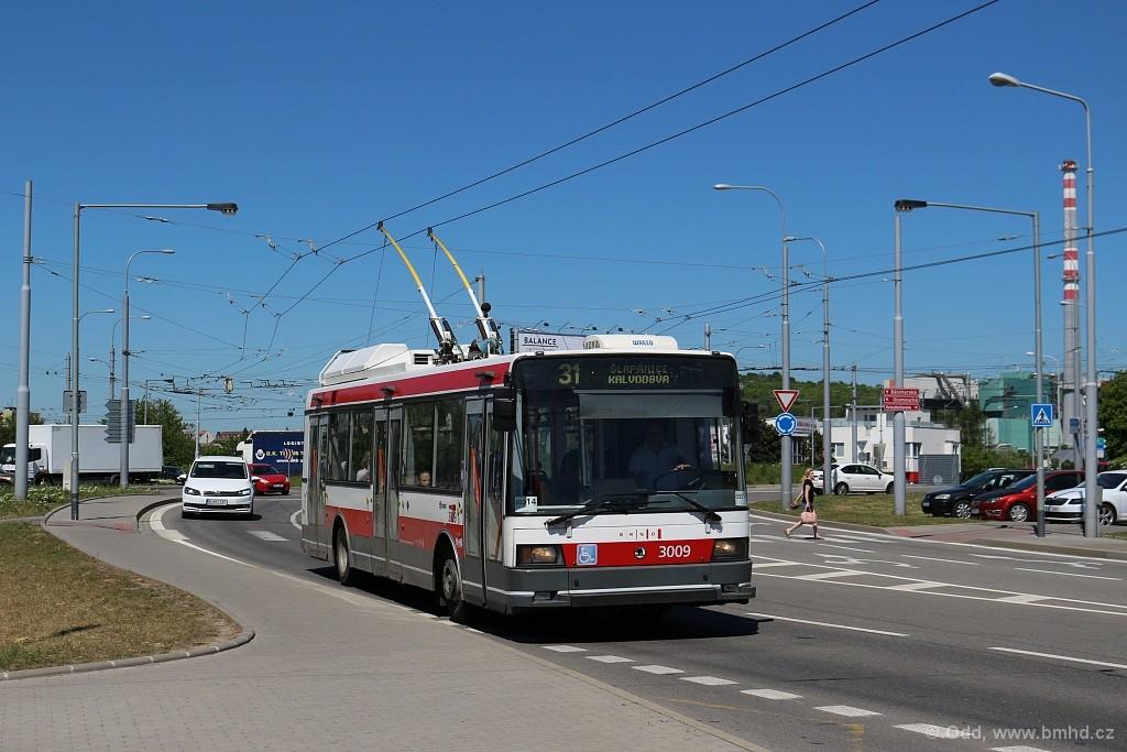 Fotogalerie » Škoda 21Tr 3009 | Brno | Slatina | Řípská