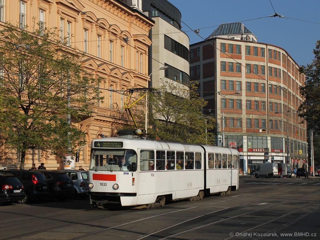 Fotogalerie » ČKD Tatra K2P 1032 | Brno | střed | Benešova