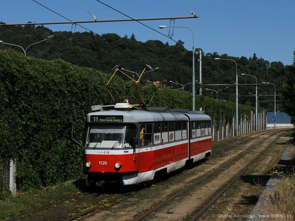 Fotogalerie » ČKD Tatra K2 1120 | Brno | Pisárky
