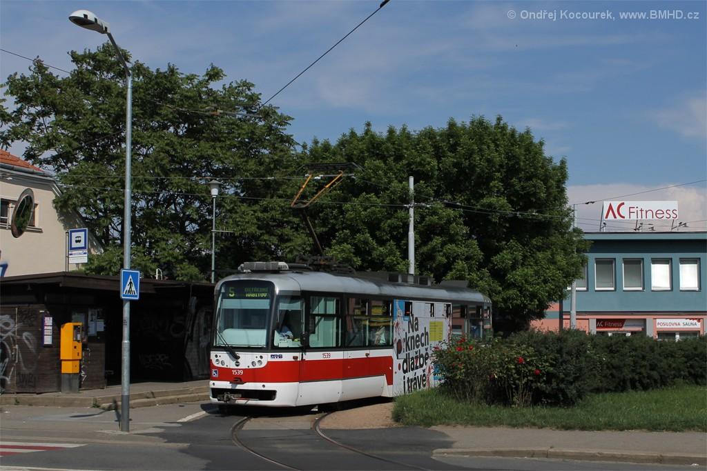 Fotogalerie » Pragoimex VarioLFR.E 1539 | Brno | Štefánikova Čtvrť | Merhautova | Štefánikova čtvrť