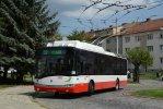 Pomineme-li zkušební provoz vozu SOR TNB 12, jedinými zástupci parciálních trolejbusů v Brně jsou v současnosti vozy 26Tr