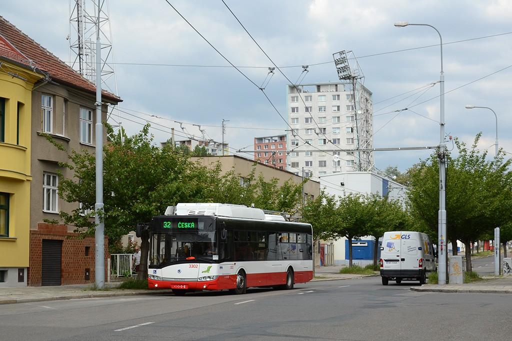 Fotogalerie » Škoda 26Tr 3302   Brno   Královo Pole   Srbská