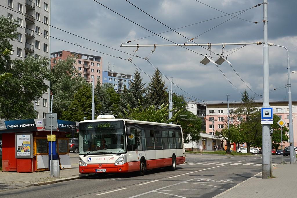 Fotogalerie » Irisbus Citelis 12M 5B7 4532 7652 | Brno | Královo Pole | Srbská | Srbská