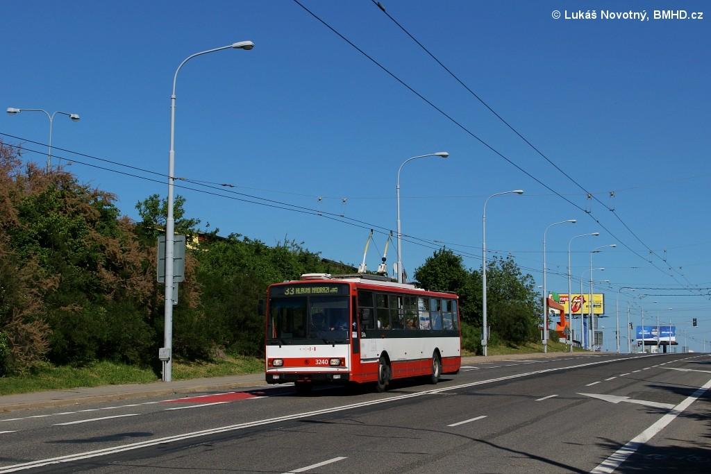 Fotogalerie » Škoda 14TrR 3240 | Brno | Černovice | Olomoucká