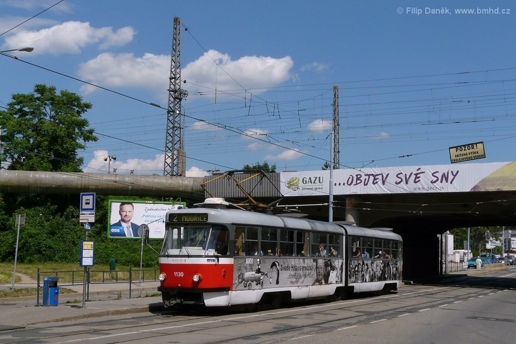 Fotogalerie » ČKD Tatra K2 1130 | Brno | Židenice | Bubeníčkova | Kuldova