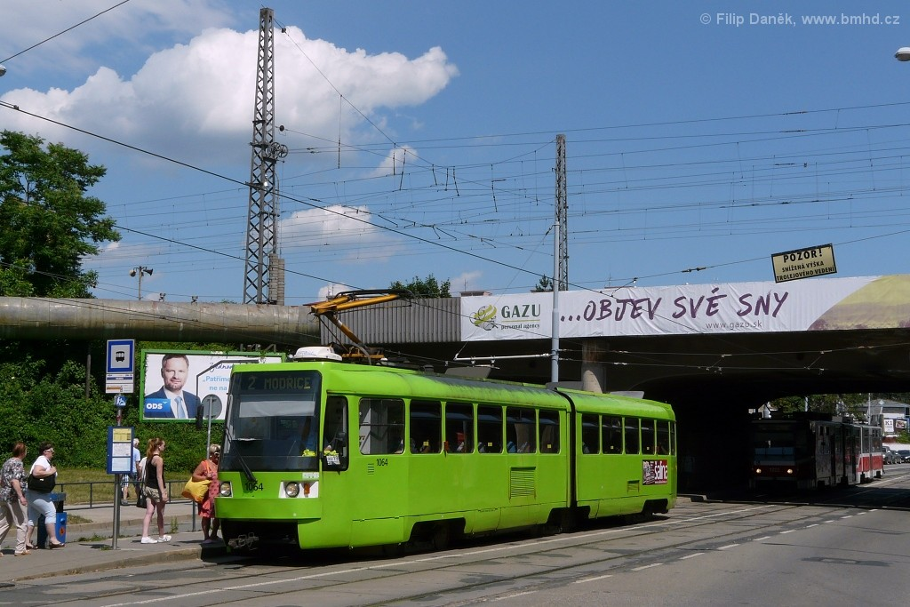Fotogalerie » ČKD Tatra K2R 1064 | Brno | Židenice | Bubeníčkova | Kuldova