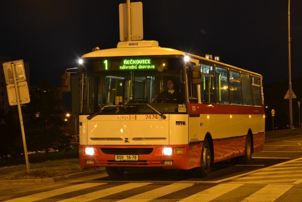 Fotogalerie » Karosa B931E.1707 BSH 16-78 7474 | Brno | Bystrc | Vejrostova | Ečerova