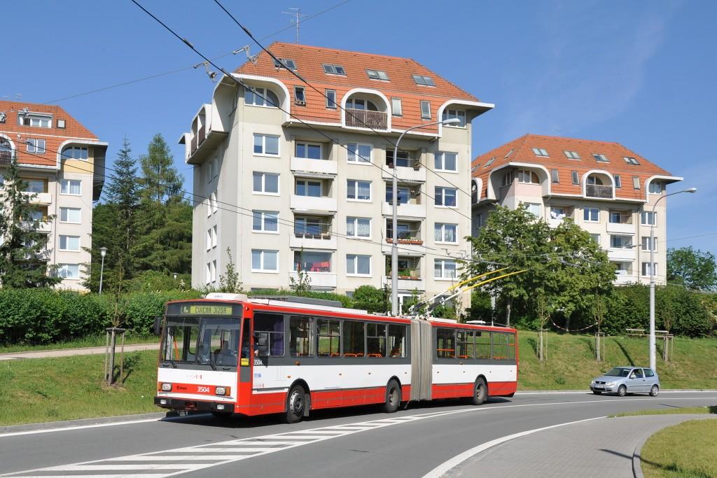 Fotogalerie » Škoda 15TrM 3504 | Brno | Kohoutovice | Chopinova