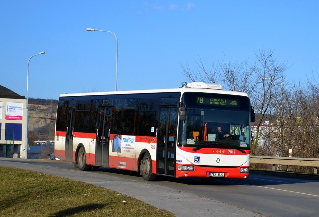 Fotogalerie » Irisbus Crossway LE 12M 7B3 3922 7812   Brno   Líšeň   Křtinská