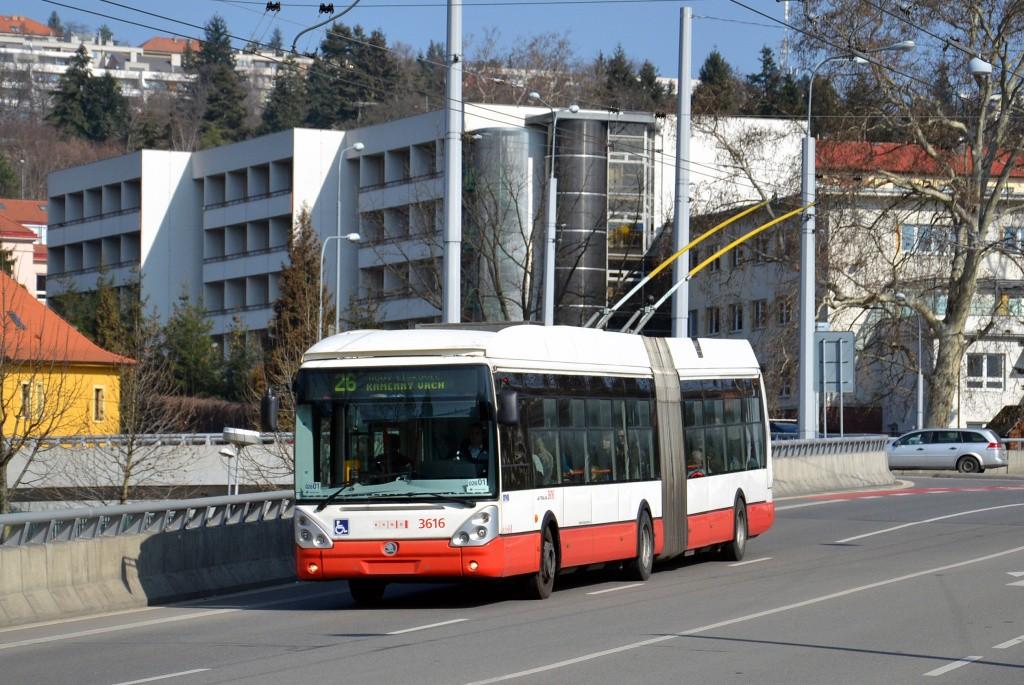 Fotogalerie » Škoda 25Tr Citelis 1B 3616 | Brno | Pisárky | Pisárecká