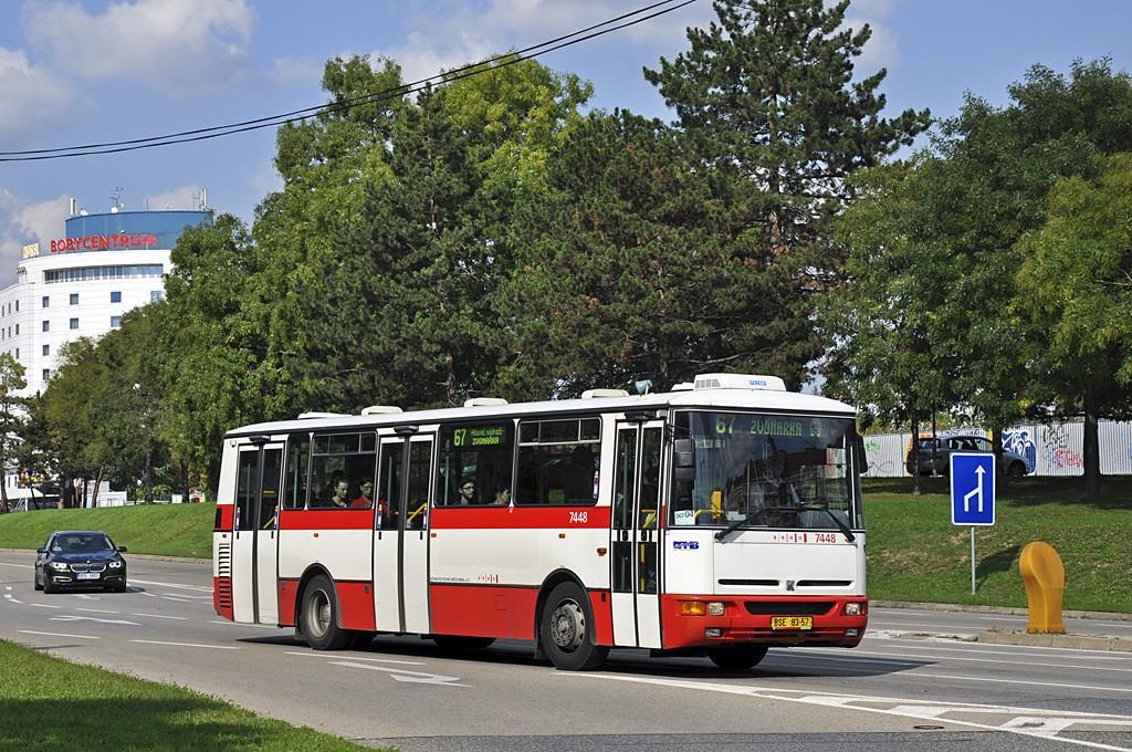 Fotogalerie » Karosa B931E.1707 BSE 83-57 7448 | Brno | Ponava | Sportovní