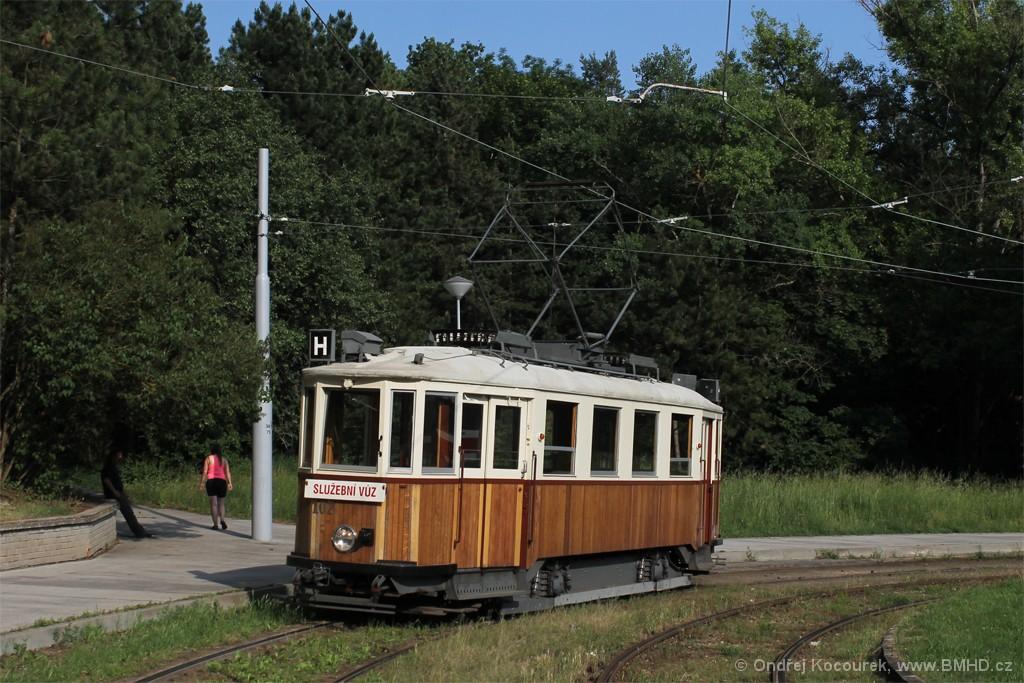Fotogalerie » KPS Brno mv6.3 107 | Brno | Lesná | Lesná, Čertova rokle