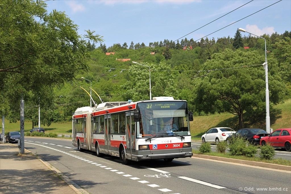 Fotogalerie » Škoda 22Tr 3604   Brno   Nový Lískovec   Petra Křivky