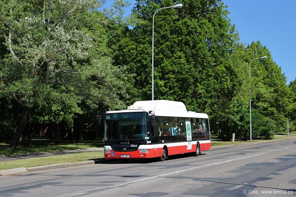 Fotogalerie » SOR NBG 12 1BC 1561 7043   Brno   Lesná   Seifertova