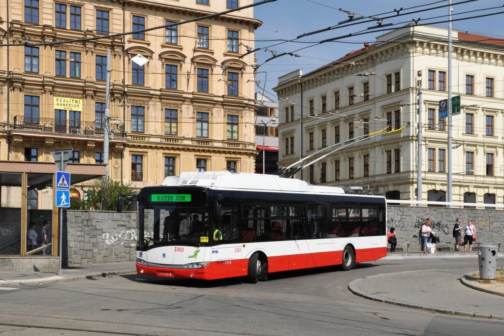Fotogalerie » Škoda 26Tr 3303 | Brno | střed | Nádražní | Hlavní nádraží